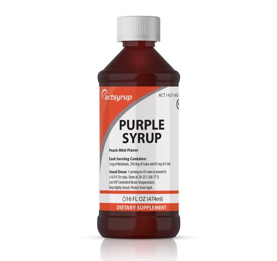 Purple Peach-Mint Flavor (16oz)